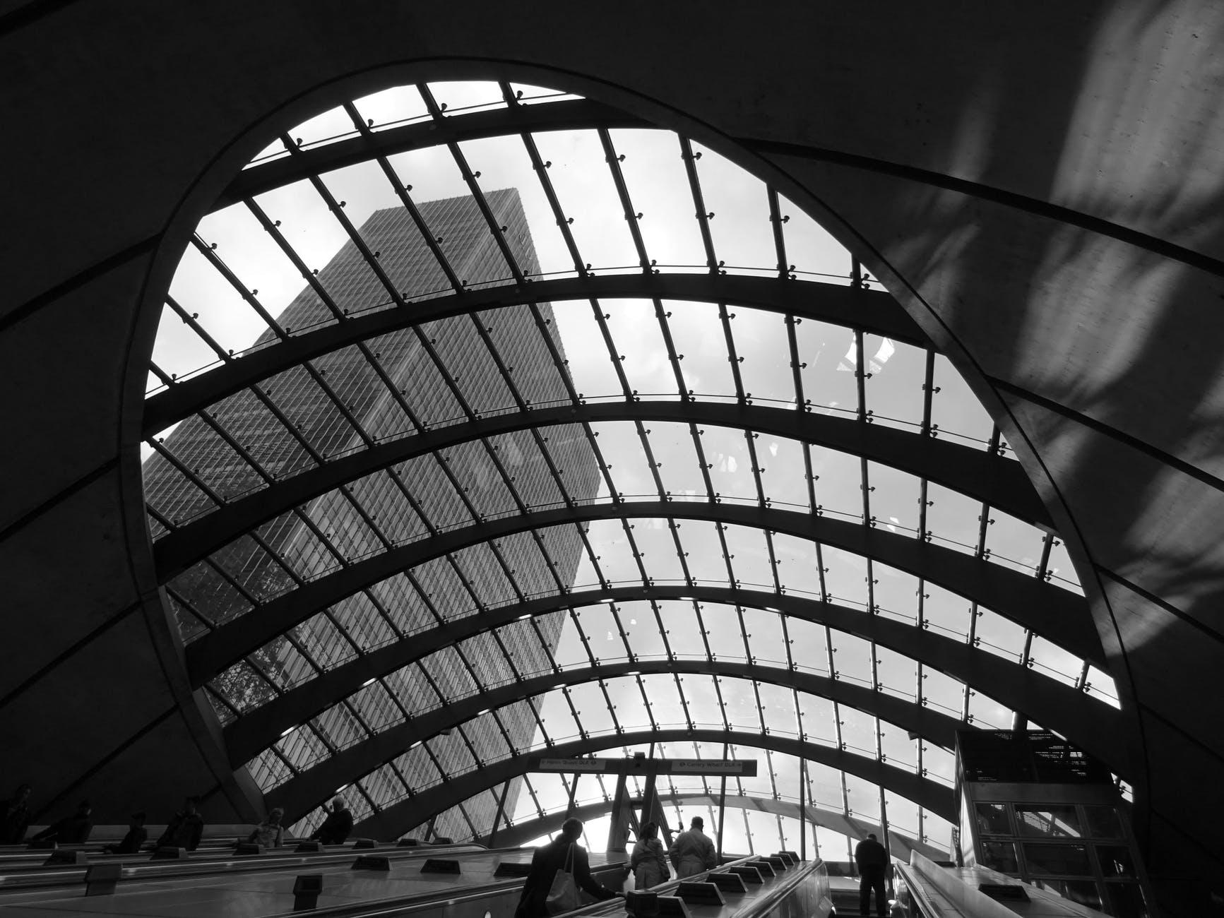 architecture building business ceiling