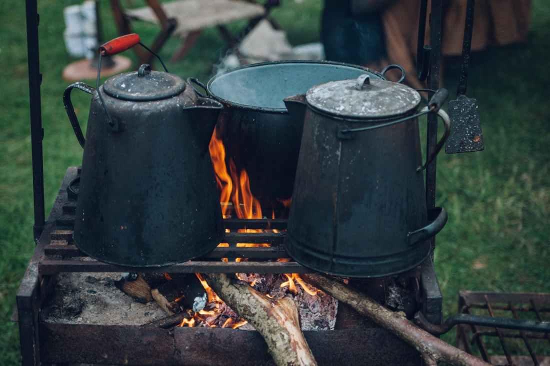 ash black bucket burn