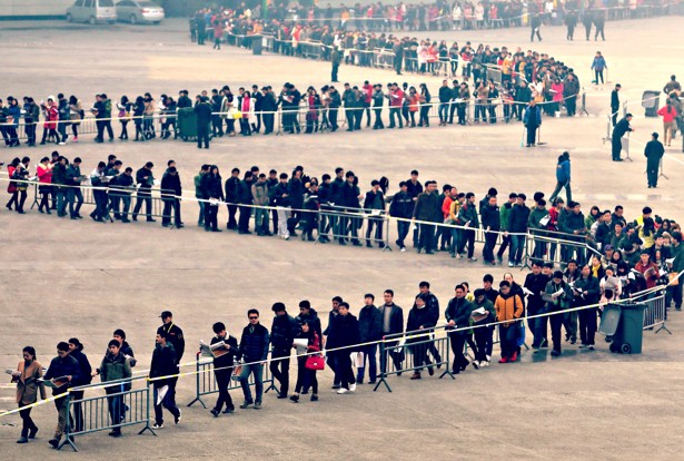 Image result for images of long lines for healthcare